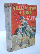 William Does His Bit by Richmal Crompton - HB DJ - 4th Impression 1944