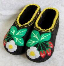 Russian Valenki 100% Wool Slippers Handmade Healthy Felt Shoes Footwear * UK 4-5