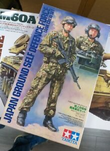 Japan Ground Self Defense Force Tank Crew Tamiya 1:16 plastic kit 36316