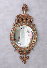 Deco Mirror Convex Baroque Wall Antique Floor Vintage