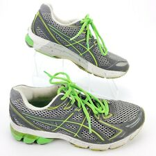 ASICS GT-2170 Mens Size 8.5 Athletic Running Shoes Gray/Green/White Crossfit