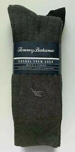 NWT Men's Tommy Bahama 4 Pack Casual Crew Dress Socks