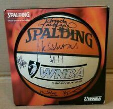 1998 WASHINGTON MYSTICS WNBA 1ST YEAR TEAM AUTOGRAPHED SPALDING F/S BASKETBALL