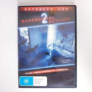 Paranormal Activity 2 Movie DVD Region 4 PAL Free Postage - Horror Thriller