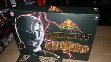 Power Rangers Legacy Mighty Morphin Movie Die Cast Coin Set coins