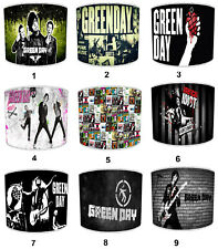 Green Day Lampshades, Ideal To Match American Idiot Albums & Green Day Posters