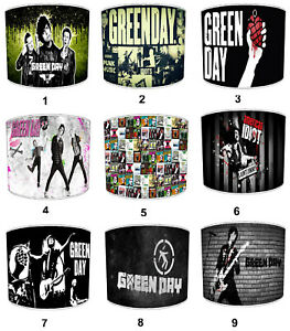 Green Day Lampshades, Ideal To Match Green Day Albums & Posters