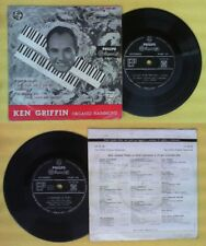 LP 45 7'' KEN GRIFFIN organo hammond It had to be you I don't no cd mc dvd vhs