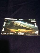 Star Wars Armada Spring 2015 Promo Victory II-class Star Destroyer Card