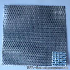 110,16€/m² VA SIEB 170x165mm Edelstahl Gitter Drahtgewebe Siebblech Fliegengitte