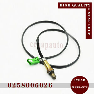 Oxygen Sensor 0258006026 for Citroen Berlingo C3 C4 Peugeot 206 306 307 406 407