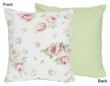 Decorative Kids Accent Throw Pillow Sweet Jojo Designs Floral Roses Bedding Sets