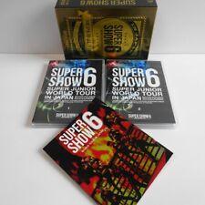 SUPER JUNIOR World Tour Super Show 6 In Japan 3DVD LTD DVD