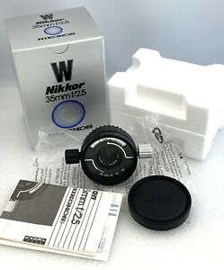 Nikon Nikkor-W 35mm f2.5 (803173) for Nikonos brand new unused old stock