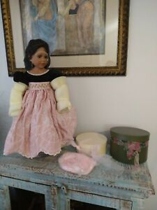 Master Piece Gallery Porcelain Doll by Rose Marie Strydom VHTF 2003 #052/250