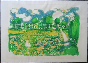 Ronald Julius Christensen Countryside Reflections art print, signed numbered