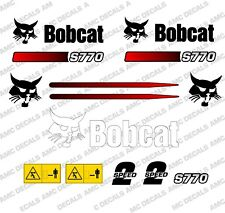 BOBCAT S770 Minipala Set Decalcomania Adesivi