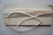 Antique Victorian  00004000  Edwardian Double sided picot Braid Lace Trim 4 yards