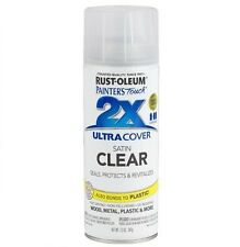 Rust-Oleum 249845 Painters Touch Spray Paint for Wood & Metal - Satin Clear