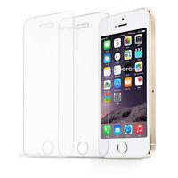 2x iPhone 5 5S SE  Schutzglas Gehärtetes Glas Schutzfolie Echt Glas Folie