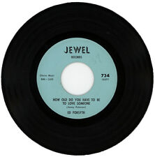 """ED FORSYTH  """"HOW OLD DO YOU HAVE TO BE TO LOVE SOMEONE"""" NORTHERN SOUL"""