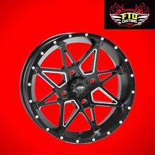 ITP Tornado 14x7 Machined Black Wheels for 2018-2019 Can-Am Maverick X3 Turbo