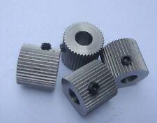 5pcs 3D Printer Gear Makerbot MK8 1.75mm Extruder Driver Feeder Gear 40 Tooth