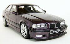 Otto Models 1/18 Scale - BMW M3 Sedan (E36) 95/98 Techno Violet Resin Model Car