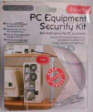 More details for laptop computer pc security cable padlock & key lock cut resistant