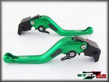 Kawasaki Zx9r 1998 - 1999 Strada 7 Corto Fibra Carbono Elevadores Verde