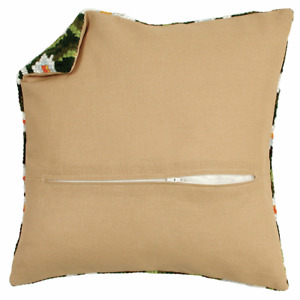 "12"" cushion back with zipper Cushion finishing Kit. Use with Vervaco kits 10x10"""