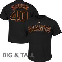 "Madison Bumgarner ""MADBUM"" #40 Giants Black Player Shirt (BIG & TALL SIZES) NWT"