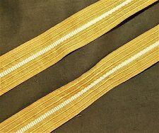 Pueblo marine tressenband ärmeltressen teniente oros 30mm ancha 2x40cm