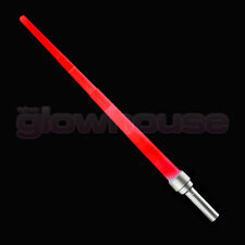 Lightsabre Telescopic Light Up Sword Extending Blue Green Red Star War Battle