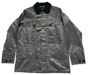 Paul Smith Metallic Silver Duffel  Jacket  M  P2P 22""