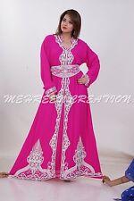 Boda 2017 Dubái Marroquí Boda Vestido Caftán Vestidos para Mujer 4879