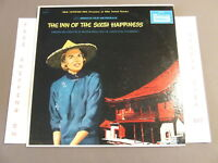 THE INN OF SIXTH HAPPINESS W/ INGRID BERGMAN SOUNDTRACK LP WITH ORIGINAL INNER