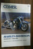 New Clymer Repair Manual Harley-Davidson Panheads 1948-1965  M418