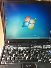 "IBM LENOVO THINKPAD T42 LCD""15 WINDOWS 7/INTEL PENTIUM 2GHZ/RAM 2GB/HD 60GB/WIFI"