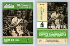 Hassan Whiteside #11 Contenders Draft Picks Basketball Old School Colors Card