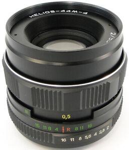 ⭐MINT⭐ Virtually New! HELIOS 44m-4 58mm f/2 Russian Soviet USSR Lens M42 44-2