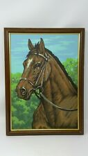 """Vintage Paint by Numbers Horse 15.5"""" x 11.25"""""""