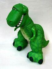 "Disney Pixar Toy Story Soft Fisher Price 2009 14"" Rex w/Roaring Action*"
