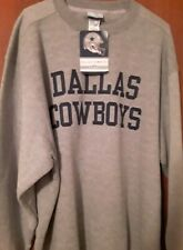 NEW WITH TAGS NWT Reebok Dallas Cowboys Crewneck Sweatshirt Men's Size XL
