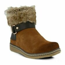 NIB-Spring Step Women's Popsicle Bootie Brown SIZE 6.5-7 US 37 EU