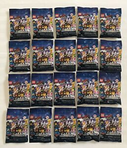 LEGO MINIFIGURES (71023) - LEGO Movie 2 - Complete Set Of 20 -Factory Sealed- Oz
