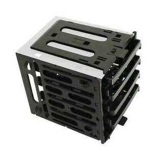 "5.25"" to 4x 3.5"" SATA SAS Hard Drive HDD Cage Rack Tray Slot Bay CD-ROM U0B0"