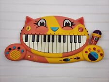 Justb Byou B Toys Meowsic Cat Face Musical Keyboard Piano & Microphone 2.C2