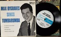 """Max Bygraves sings Tumbarumba - 1966 7"""" mono picture sleeve EP - VG+, cover VG"""