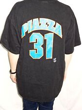 New York Mets Mike Piazza #31 Miro 1998 T-shirt Size Mens XL MLB Vintage